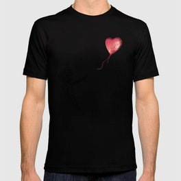 Banksy cosmic balloon T-shirt