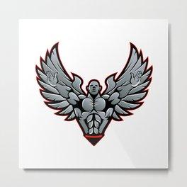 Symbol for gym and fitness Metal Print