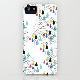 Rain Collage iPhone Case