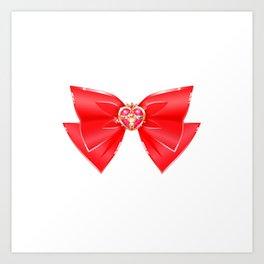 Sailor Moon Cosmic Heart Compact Art Print