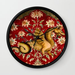 Coiled Dragon - Garden of Beasts Collection Wall Clock