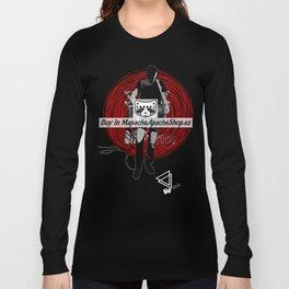 """Lip Bitch """"christian marclay II"""" by Javier Largen Long Sleeve T-shirt"""