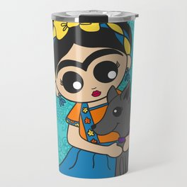 Little Dog Friend Travel Mug