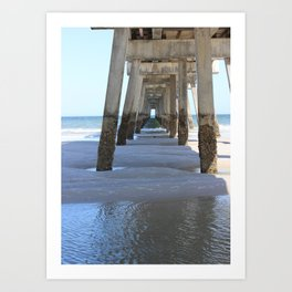 Under the Dock Art Print