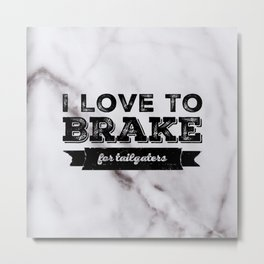 Love For Tailgaters Metal Print