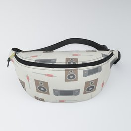 Stereo system Fanny Pack