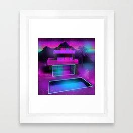 Glass Home Framed Art Print