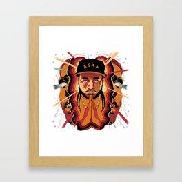 ASAP YAMS---ARTWORK Framed Art Print