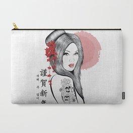 Geisha Doll Carry-All Pouch