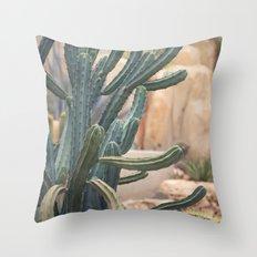 Cactus Jungle II Throw Pillow