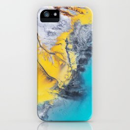 Corrosive Coastline iPhone Case