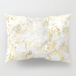 Elegant Gold swirls Pillow Sham