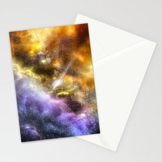 Space colours Stationery Cards