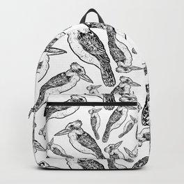 Kookaburra Pattern Backpack