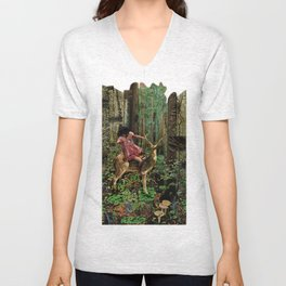 Deerlove | Collage Unisex V-Neck