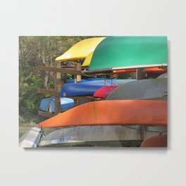 Pointe Kayaks 14 Metal Print