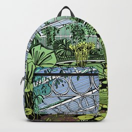 Kew Gardens Water Lily House  Backpack