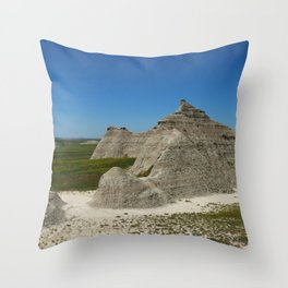 The Beauty Of A Rough Country Throw Pillow