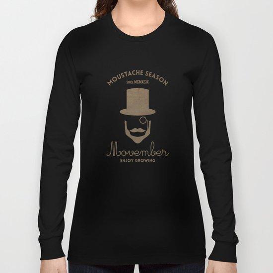 Moustache season Long Sleeve T-shirt
