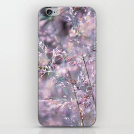 colourful grasses iPhone Skin