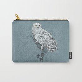 Secrets of the Snowy Owl Carry-All Pouch
