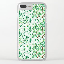 Unchanging Nature Clear iPhone Case