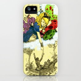 'Dreaming Alice' by Kevin C. Steele iPhone Case