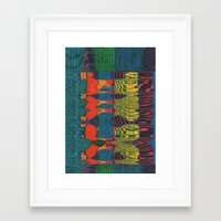 acid Framed Art Prints featuring Acid by Rocovich