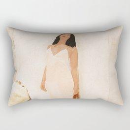 On the city walls Rectangular Pillow