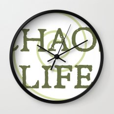 ChaosLife: The Print Wall Clock