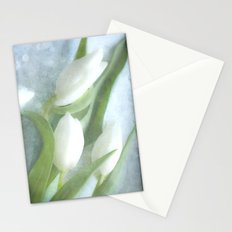 3 tulips Stationery Cards