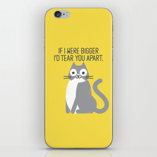 Purrfectly Honest iPhone & iPod Skin
