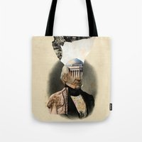 warrior Tote Bags featuring Warrior by DIVIDUS
