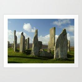 The Standing Stones of Callanish Art Print