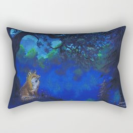 Fox Rectangular Pillow