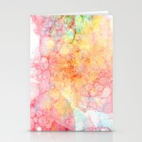 bubbles Stationery Cards featuring Bubbles by emilie