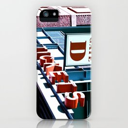 Fenway Gate D Tickets iPhone Case