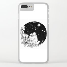 """EVAK """"Look at the stars, look how they shine for you"""" Clear iPhone Case"""