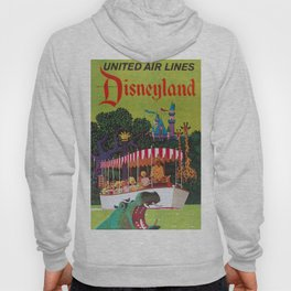 Vintage Airline Travel Poster - Florida Hoody