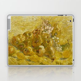 Quinces, Lemons, Pears and Grapes by Vincent van Gogh Laptop & iPad Skin
