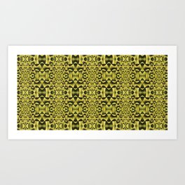 Yellow Haze Art Print
