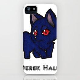 Lil Alpha Wolf Derek Hale iPhone Case