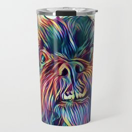 The GRIFFON from our POP YOUR POOCH line Travel Mug