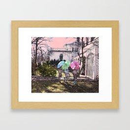 3 Umbrella's! Framed Art Print