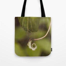 Leaf twirl Tote Bag