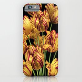 Royal Sovereign Tulips bouquet. iPhone Case