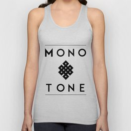 Eternal Monotone Unisex Tank Top