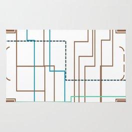 Line Design Rug