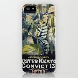 Vintage poster - Convict 13 iPhone Case