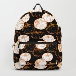 Pumpkins (Golden Calico) - Black Backpack